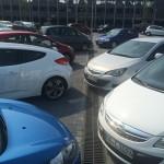 Entwässerung mit Drainfix Clean auf dem Parkplatz des Landratsamts Groß-Gerau