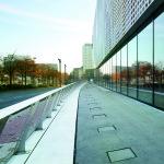 Entwässerungslösung der Außenanlagen des Deutschen Fußballmuseums