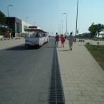 Der Badeort Mamaia zieht viele Touristen an.