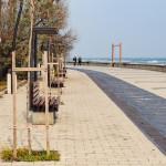 Fast 8.500 Meter Filtersubstratrinne Drainfix Clean wurden für die Reinigung des Oberflächenwassers im rumänischen Badeort Mamaia verbaut.
