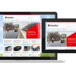 Die Webseite von Hauraton im Responsive Design