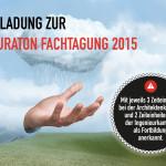 Einladung zur Hauraton Fachtagung 2015